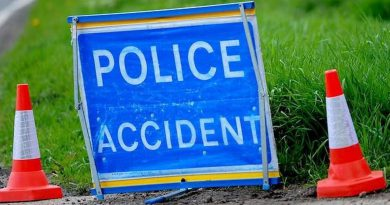 Three vehicles involved in crash on A1058 at Bures