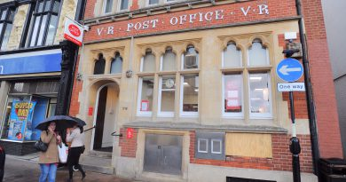 Work to start next week on redevelopment of former town centre Post Office to include two ground floor business units and 12 flats