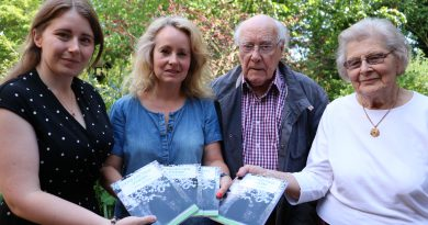 Hospice writing group launches book in memory of local poet