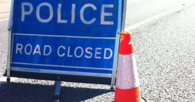 Man dies in crash on A140 at Little Stonham and road remains closed to traffic