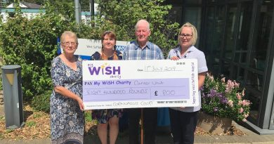 Tea party helps to boost the funds of the cancer unit at the West Suffolk Hospital