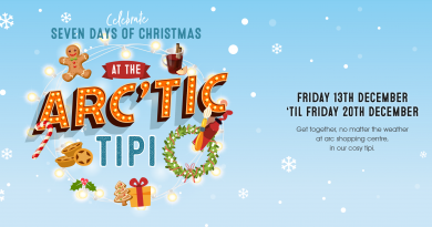 Arc'tic TiPi heads to the Arc Shopping Centre this Christmas
