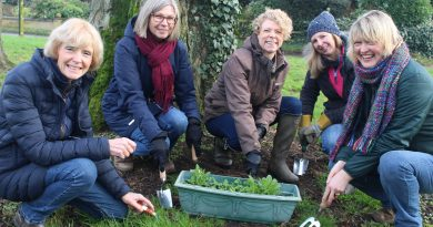 Sowing the seeds for wildlife friendly village