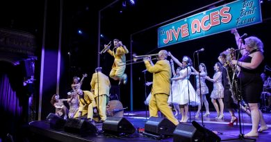 The Jive Aces set to get The Apex rockin' later this month