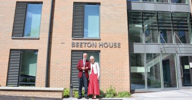 Imaging services manager has hospital block named after him as he retires from Trust
