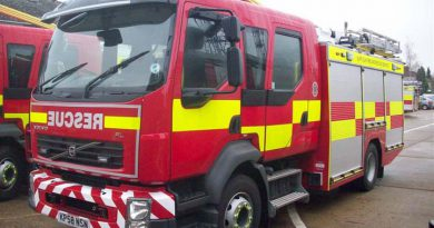 Arson suspected at disused and empty pub on A134