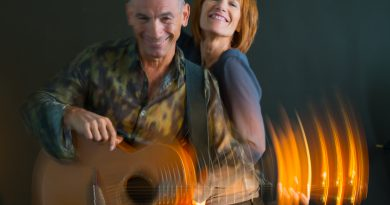 Musical legends Kiki Dee and Carmelo Luggeri on stage at the Theatre Royal