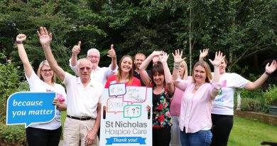 St Nicholas Hospice Care on the lookout for daring skydivers