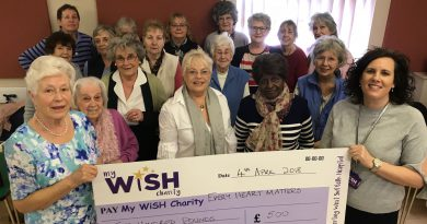 WI group helps to boost the funds of the Every Heart Matters appeal