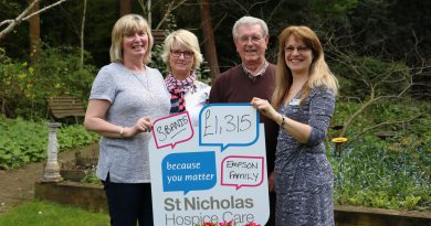 Night filled with music and dancing raises funds for St Nicholas Hospice Care
