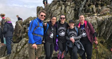 Taylor Wimpey East Anglia employees take on Snowdonia in aid of local charities