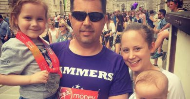 London Marathon runners boost the funds of the MyWiSH Charity to nearly £3,000