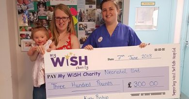 Caravan rallies boost the funds of the My WiSH Charity to the tune of £300