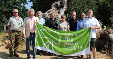 Five parks across West Suffolk awarded Green Flags