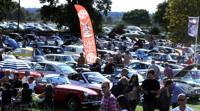 Hundreds Of Vehicles All Set To Go On Show At Annual Classic And - Show all cars