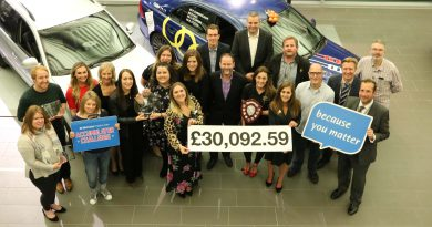 Businesses proved their worth by raising more than £30,000 for St Nicholas Hospice Care