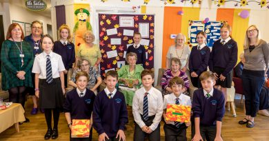 Children join Bury St Edmunds care home for rhyming fun