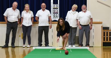 Local house builder supports new club with £350 donation