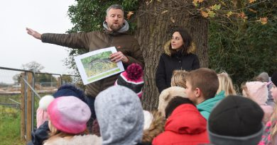 Bury St Edmunds based Housing developers teach Norfolk pupils the importance of protecting nature