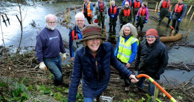River restoration volunteers backed by West Suffolk councillor