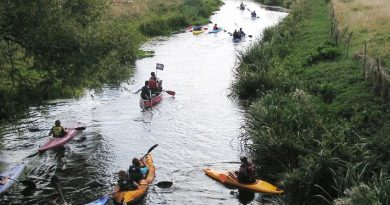 Inflatable canoe stolen from banks of the River Stour